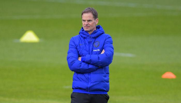 Де Бура уволили с должности главного тренера сборной Нидерландов