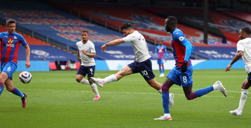 Манчестер Сити обыграл на выезде Кристал Пэлас и приблизился к чемпионству