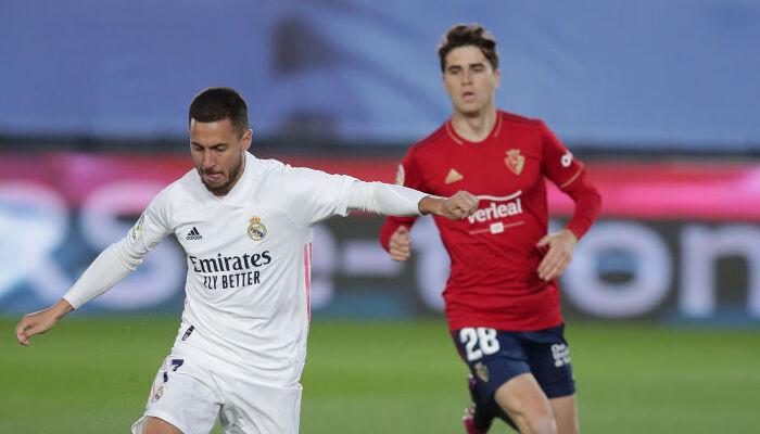 Реал на своем поле победил Осасуну и продолжает погоню за Атлетико