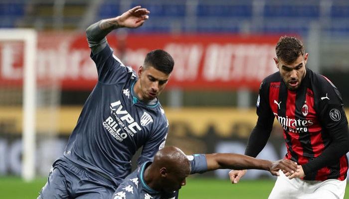 Милан обыграл Беневенто и поднялся на вторую строчку Серии А