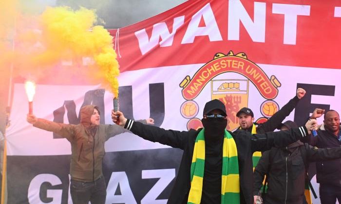 Матч Манчестер Юнайтед — Ливерпуль не состоится сегодня из-за протестов фанатов