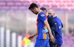 Бускетс отримав перелом верхньої щелепи в матчі з Атлетіко