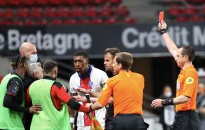 Кимпембе может быть дисквалифицирован на 10 матчей за оскорбление футболистов Ренна