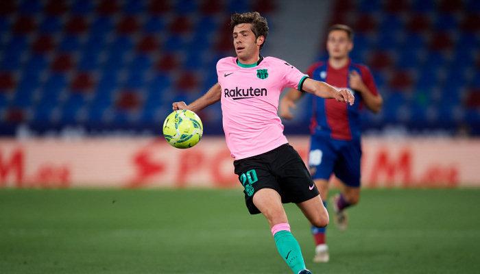 Барселона может продлить контракт с Серхи Роберто на два года