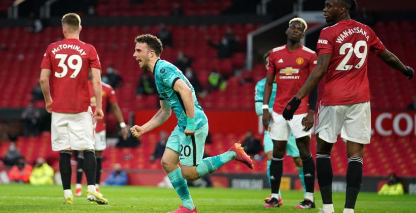 Ливерпуль в зрелищном матче обыграл Манчестер Юнайтед на Олд Траффорд