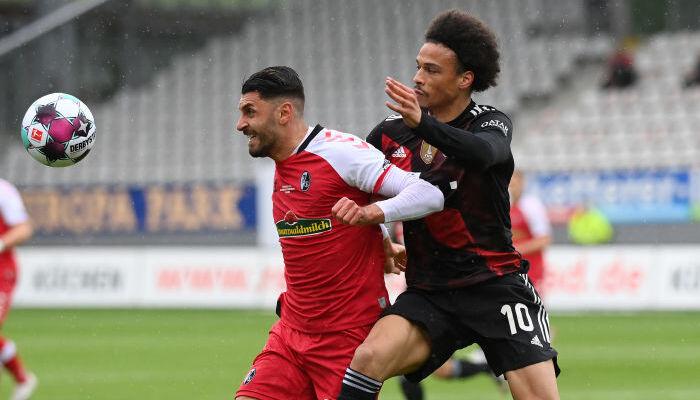 Бавария на выезде сыграла вничью с Фрайбургом
