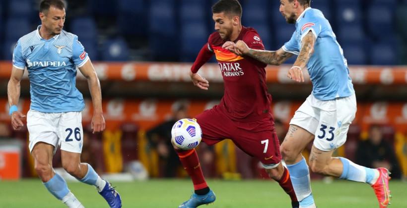 Рома обыграла Лацио в римском дерби