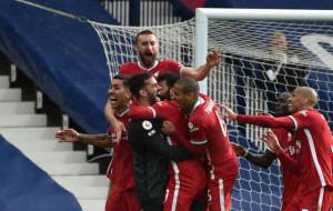 Победный гол вратаря Ливерпуля Алиссона в матче против Вест Бромвича (видео)