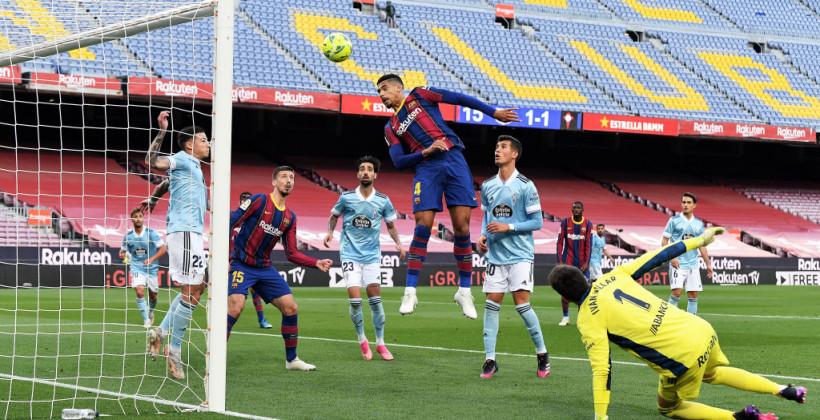 Барселона програла Сельті і втратила шанси на чемпіонство