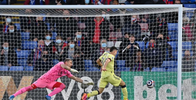 Арсенал вырвал победу у Кристал Пэлас