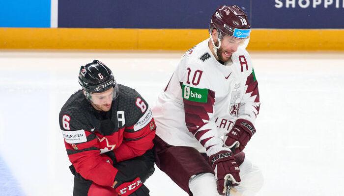 Канада проиграла Латвии, победы Германии и Словакии и другие результаты ЧМ по хоккею-2021