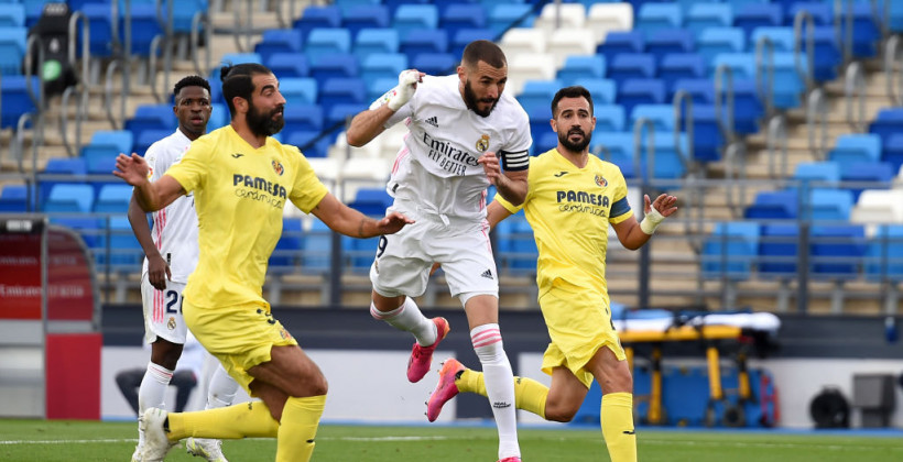 Реал вырвал победу у Вильярреала, но закончил сезон на втором месте Примеры