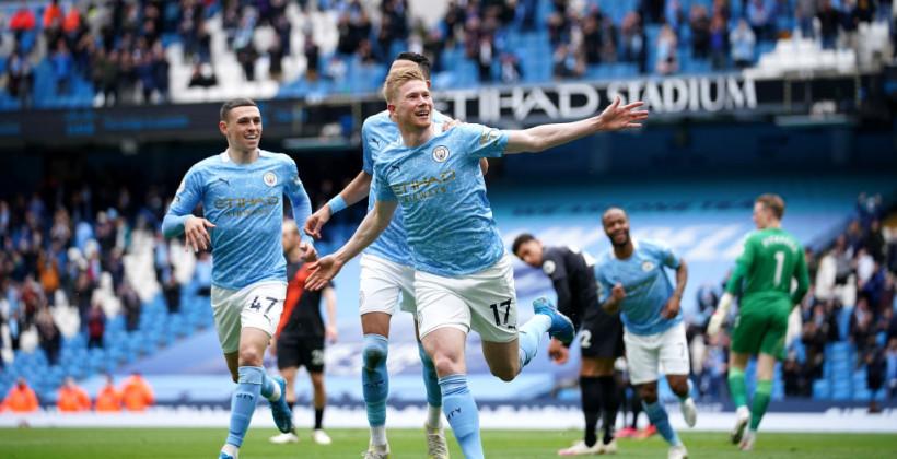 Манчестер Сити с Зинченко разгромил Эвертон на своем поле