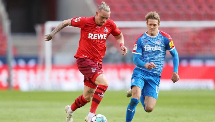 Кельн проиграл Хольштайну в первом матче плей-офф за место в Бундеслиге