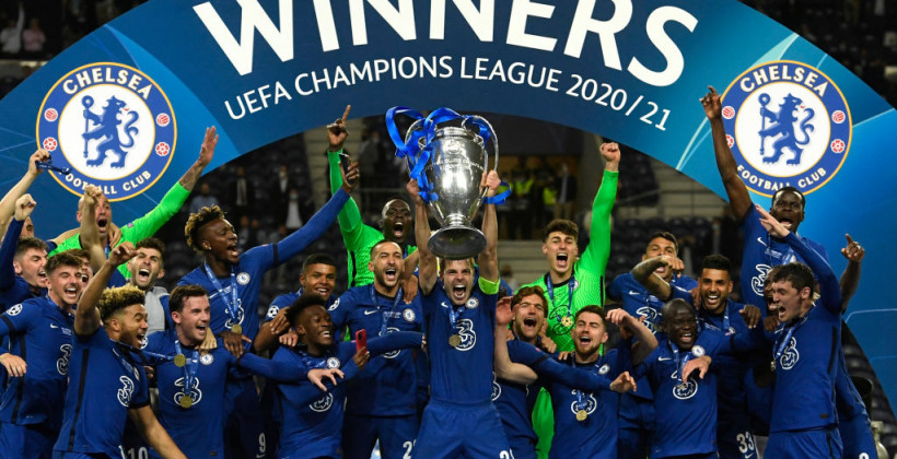 Челси победил Манчестер Сити и выиграл Лигу чемпионов 2020/21
