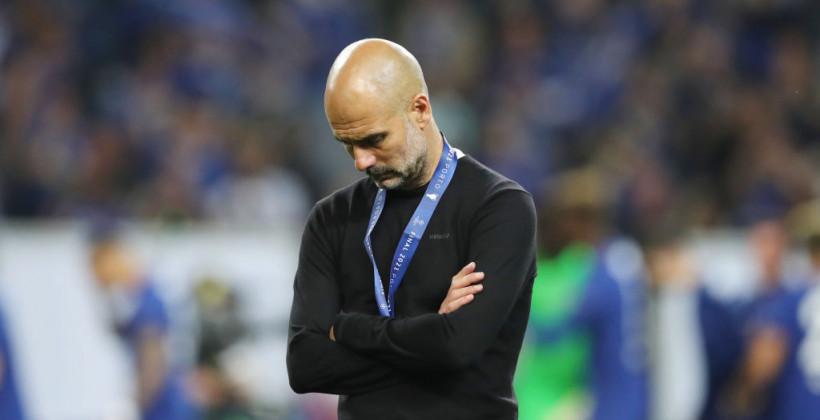 Гвардіола програв перший фінал на чолі Манчестер Сіті