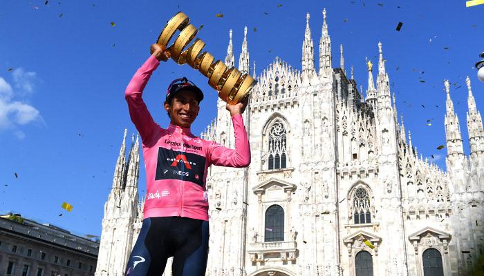 Берналь став переможцем Джиро д'Італія-2021