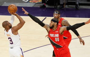 НБА. Финикс минимально обыграл Портленд, победы Клипперс и Милуоки