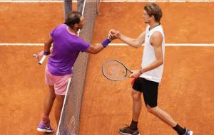 Надаль обіграв Звєрєва в чвертьфіналі турніру в Римі