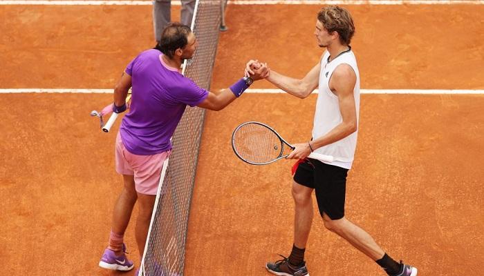 Надаль обыграл Зверева в четвертьфинале турнира в Риме
