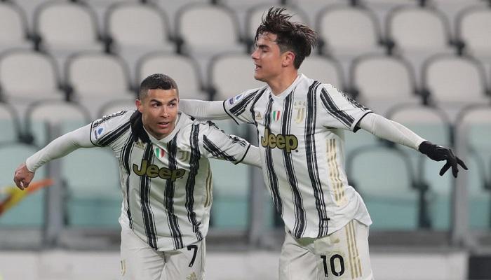 Роналду та Дібала забили свої 100-ті голи за Ювентус
