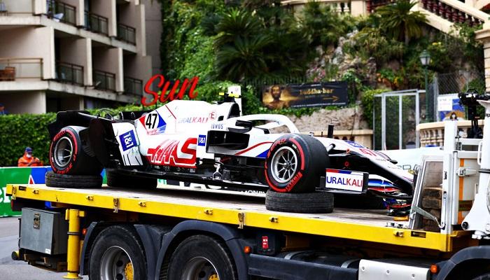 Шумахер разбил болид в практике и пропустит квалификацию Гран-при Монако