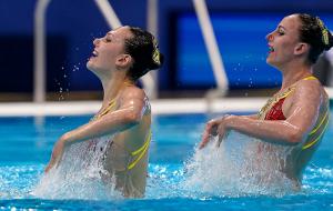 Украина выиграла золото по артистическому плаванию на чемпионате Европы