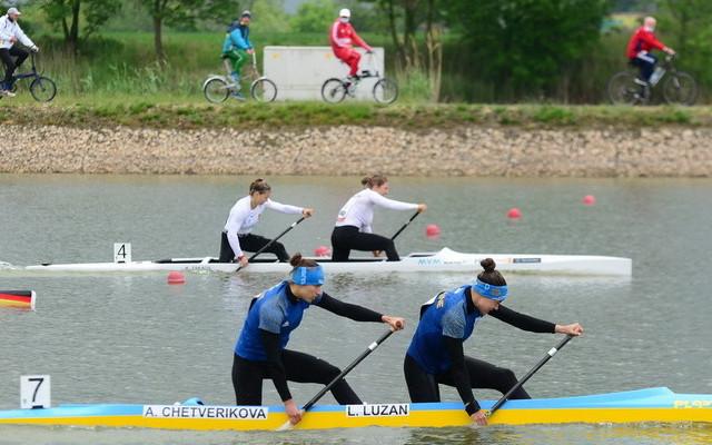 Україна посіла підсумкове друге місце на Кубку світу з веслування на байдарках і каное в Угорщині