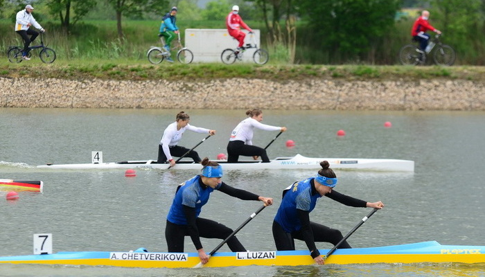 Украина завоевала пять медалей в заключительный день этапа Кубка мира по гребле на байдарках и каноэ в Сегеде