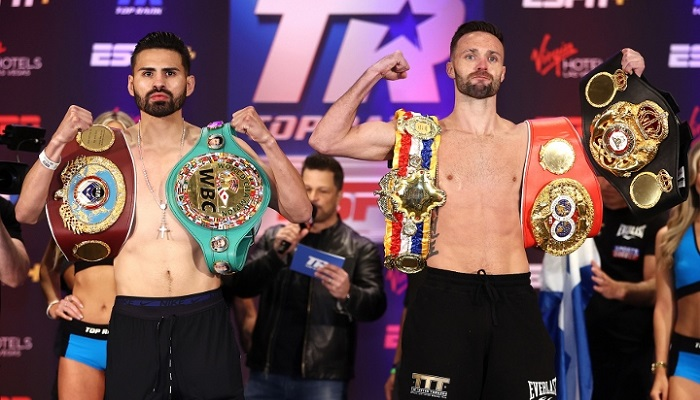 Рамирес и Тэйлор показали одинаковый вес перед боем за звание абсолютного чемпиона мира