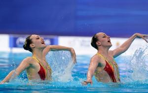 Дует українок Федіної та Савчук виграв срібло в синхронному плаванні на чемпіонаті Європи