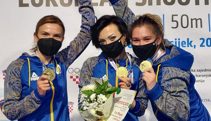 Українки виграли золото на чемпіонаті Європи зі стрільби