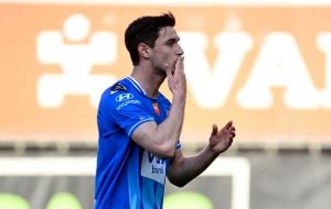 Яремчук забил за Гент в ворота Остенде