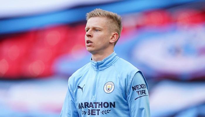 Зінченко – у стартовому складі Манчестер Сіті на матч проти Брайтона
