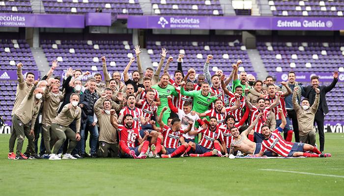Атлетико стал чемпионом Испании в сезоне 2020/21