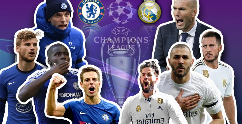 Челси Реал Мадрид онлайн трансляция