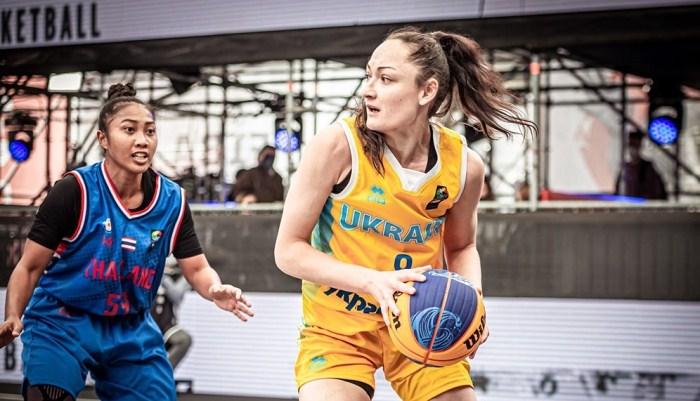 Жіноча збірна України з баскетболу 3×3 – друга в групі після стартових матчів відбору на ОІ-2020