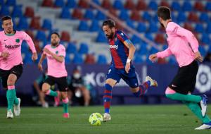 Леванте — Барселона. Видео обзор матча за 11 мая