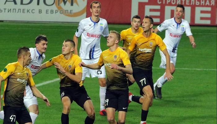 Агробизнес обыграл Черноморец и вышел на третье место Первой лиги
