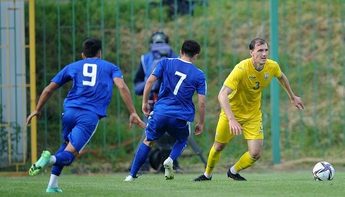 Молодежная сборная Украины проиграла Узбекистану на турнире памяти Лобановского