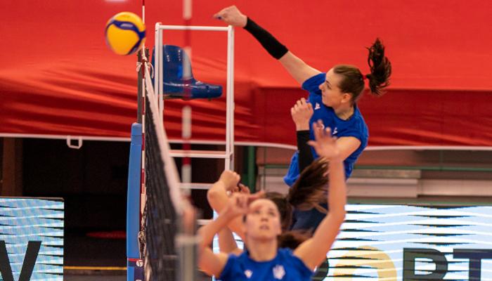Женская сборная Украины по волейболу победила Португалию в первом матче отбора на ЧЕ-2021