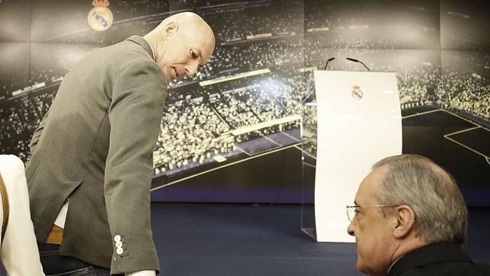 Не верьте в мантру, что Зидан ушел из-за перестройки Реала. Он ушел из-за Переса