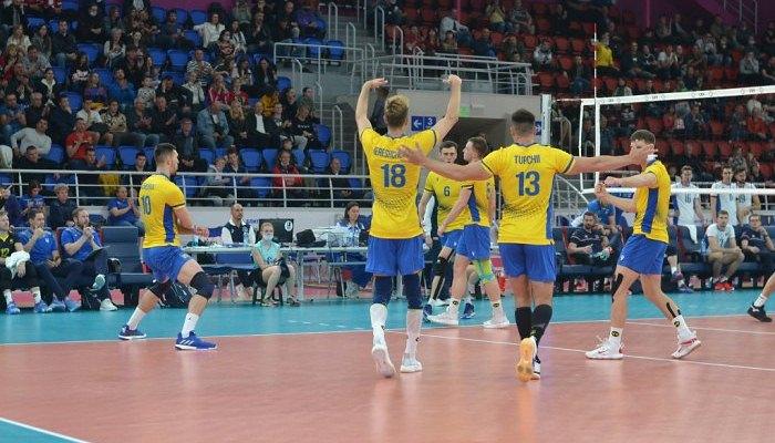 Чоловіча збірна України з волейболу обіграла Словаччину і закрила групу Золотої Євроліги без поразок