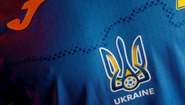 Украина сыграет с Нидерландами в синей форме