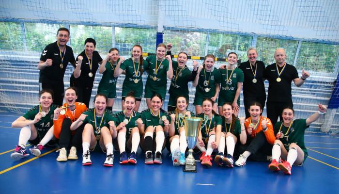 Галичанка победила Днепрянку и выиграла Кубок Украины по гандболу
