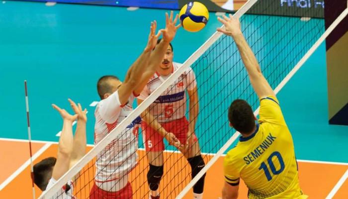 Сборная Украины по волейболу проиграла Турции в финале Золотой Евролиги
