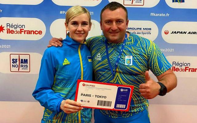 Украинская каратистка Серегина завоевала лицензию на Олимпиаду-2020