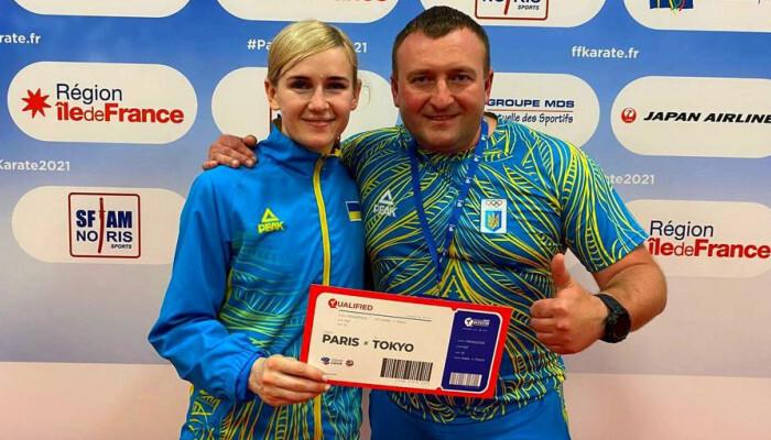 Українська каратистка Серьогіна завоювала ліцензію на Олімпіаду-2020