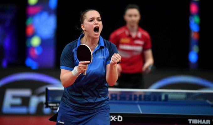 Українка Песоцька виграла бронзу чемпіонату Європи з настільного тенісу