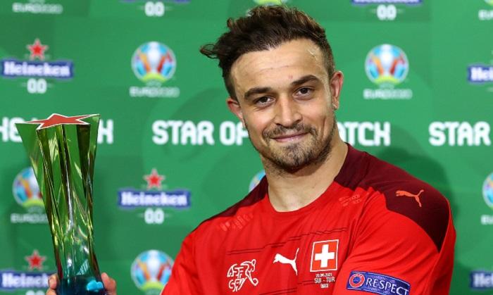 Шачирі – кращий гравець матчу Швейцарія – Туреччина